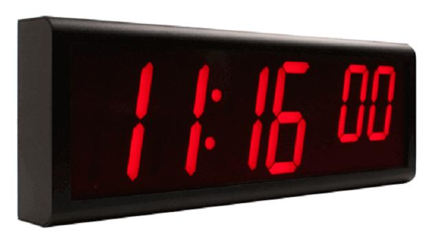 Orologio da parete digitale Ethernet NTP