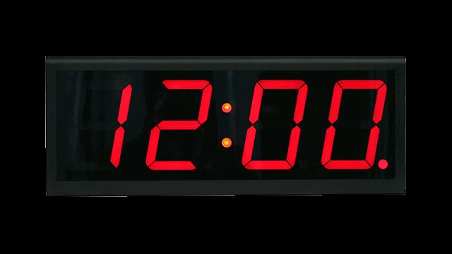 Orologio da parete connesso a Internet