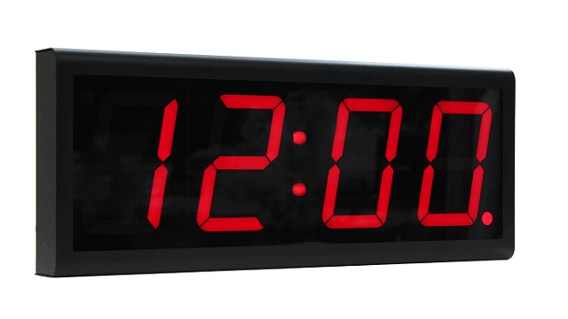 Orologio digitale PoE